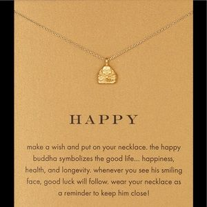 Dogeared Buddha necklace